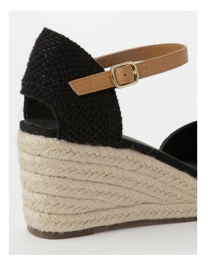 Tenerife Heeled Black Shoe image 5