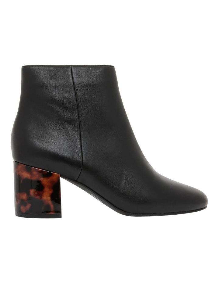 Dallas1 Black Leather Boot image 1