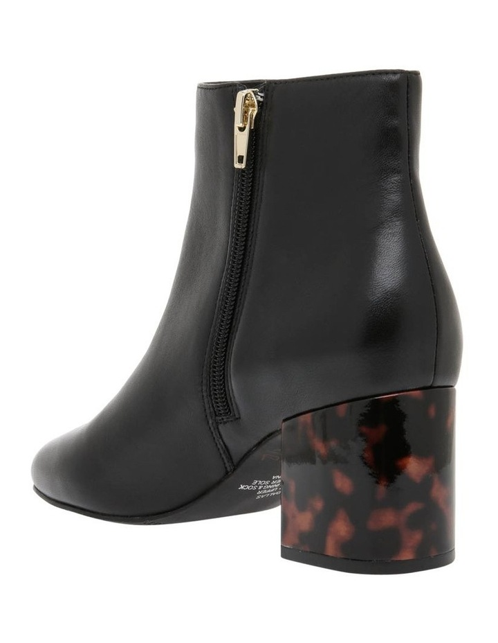 Dallas1 Black Leather Boot image 2