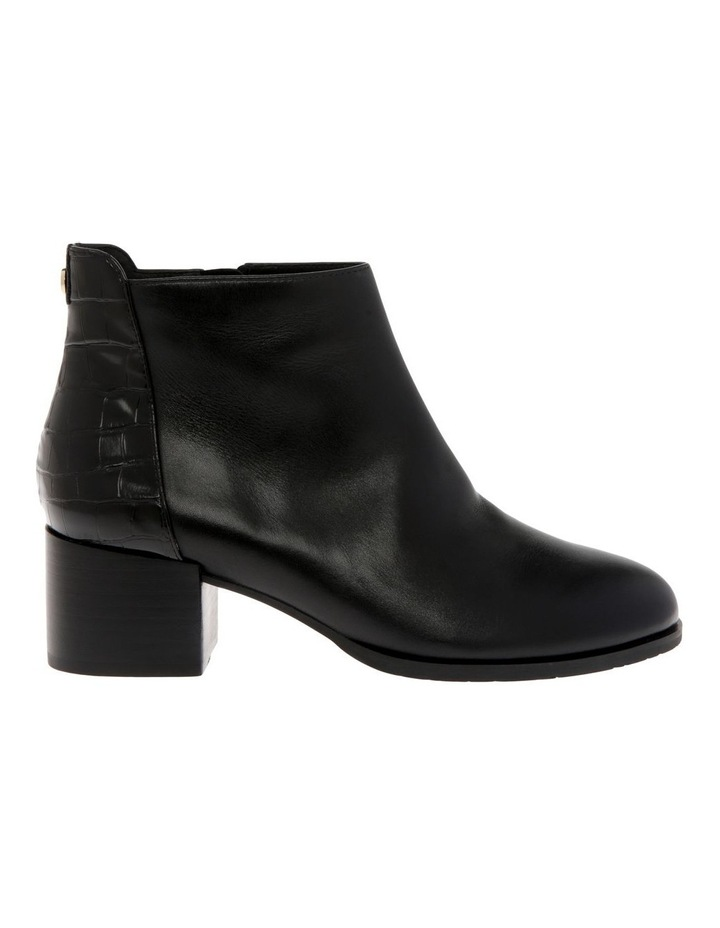 Christa Black Cow Leather Boot image 1
