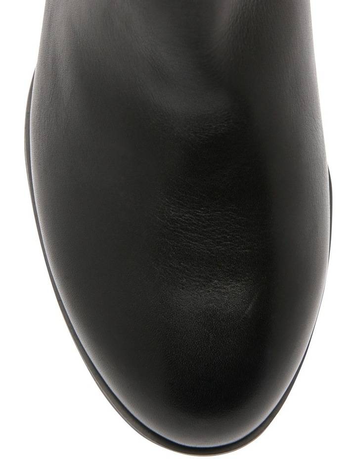Christa Black Cow Leather Boot image 2