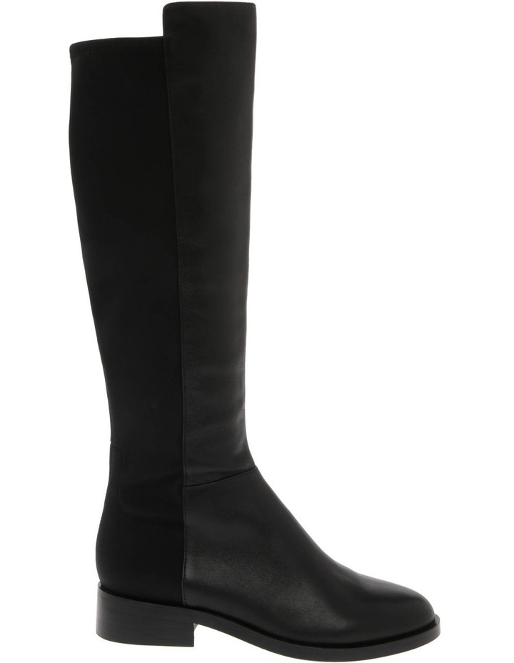 Leigh Black Cow Leather Boot image 1