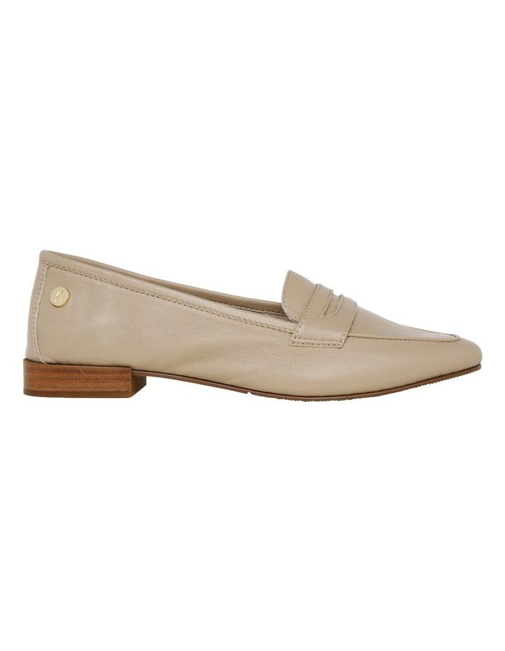 Carmel Beige Leather Loafer image 1