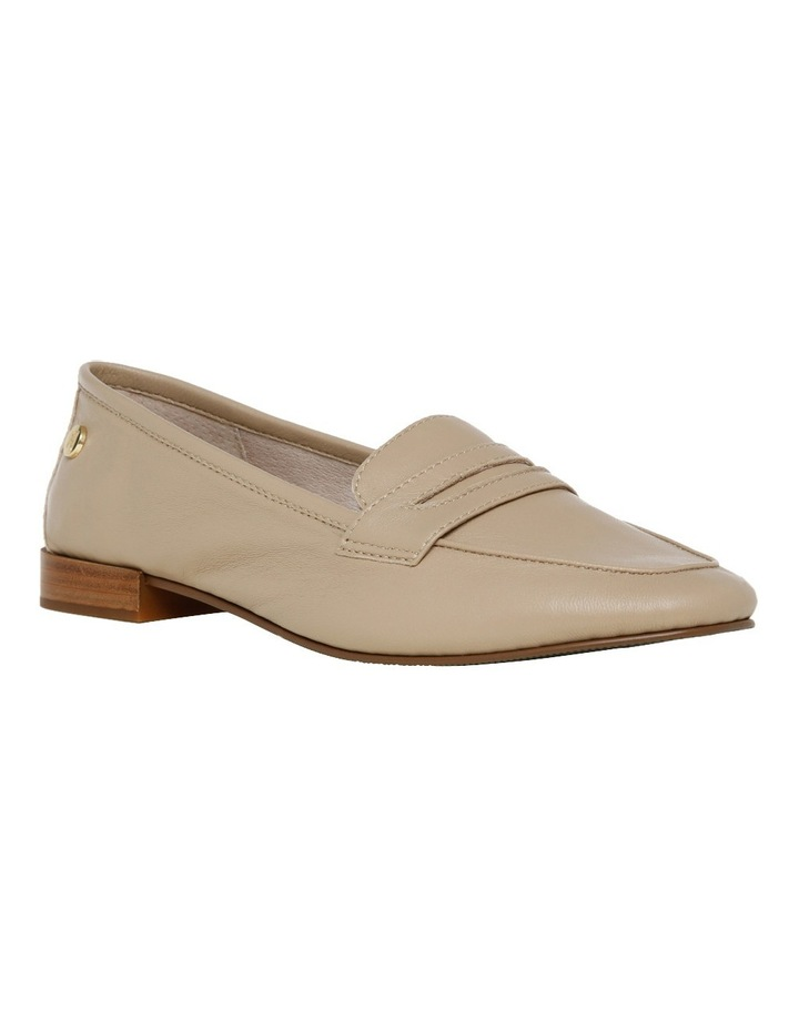 Carmel Beige Leather Loafer image 2