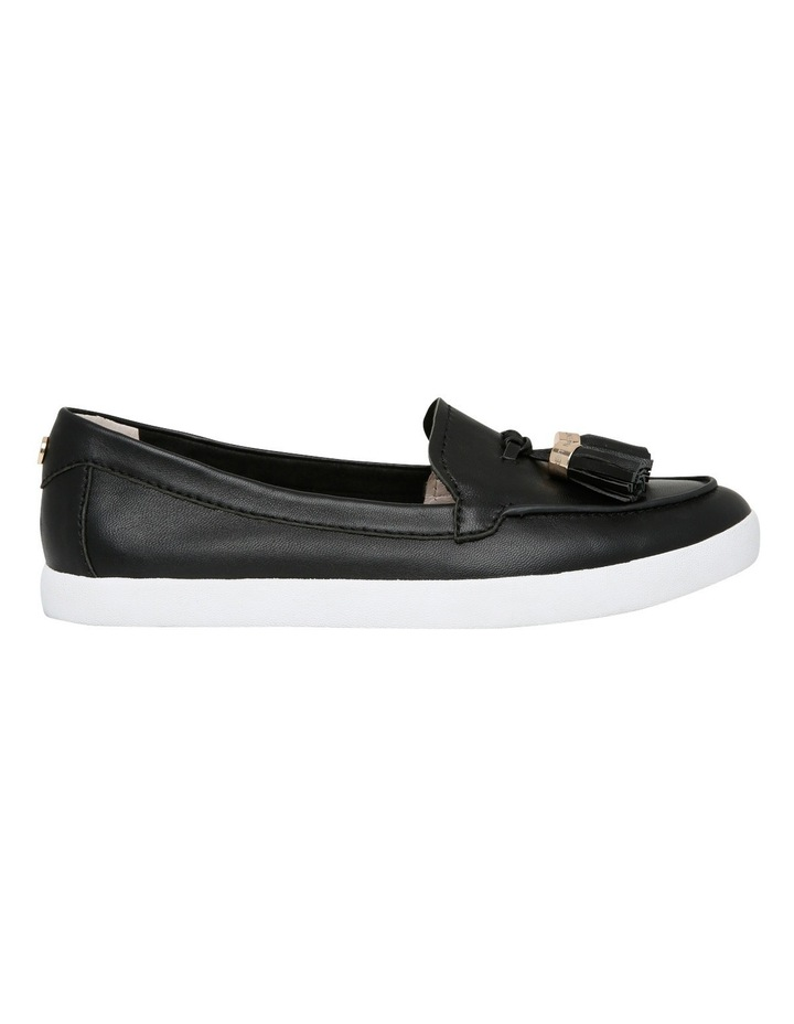 Peta Black Leather Sneaker image 1