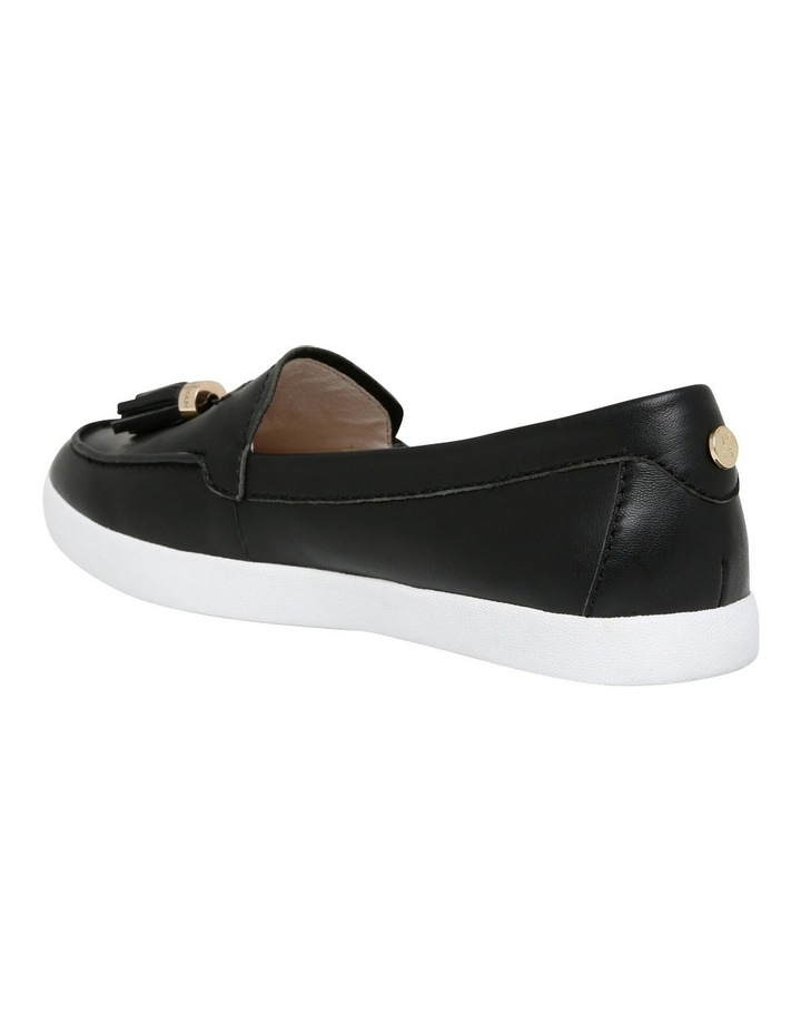 Peta Black Leather Sneaker image 3