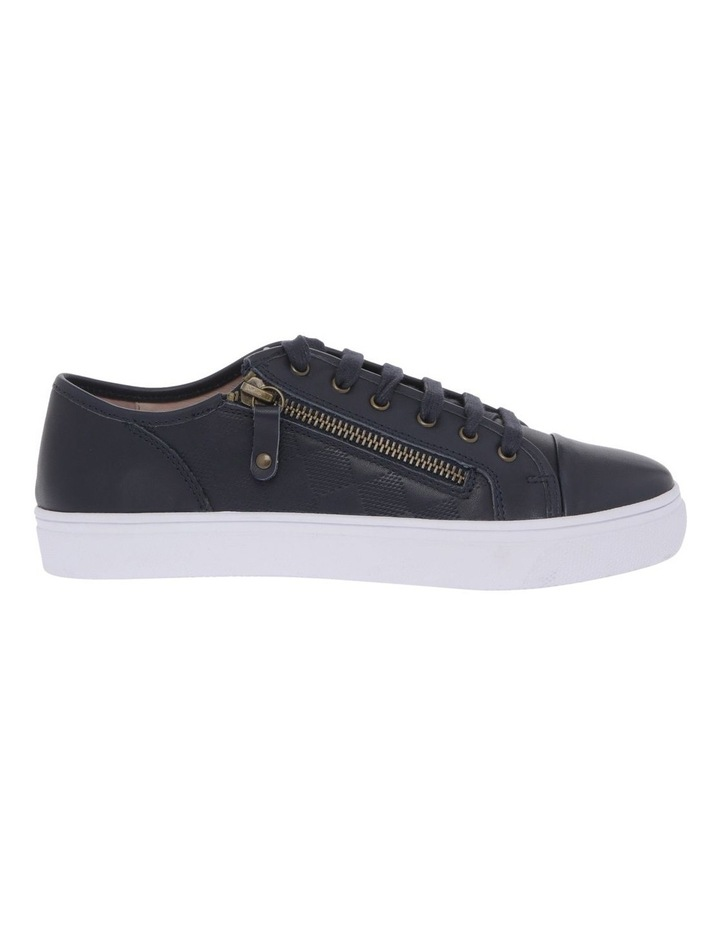 Campbell Navy Leather Sneaker image 1