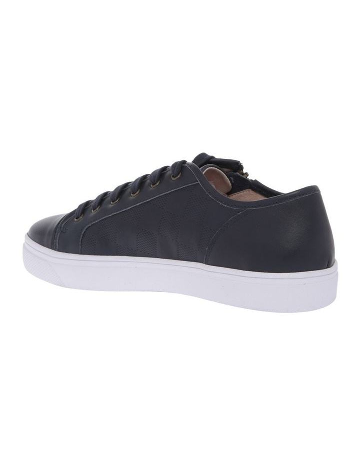 Campbell Navy Leather Sneaker image 2