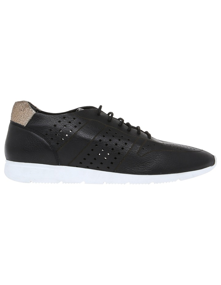 Action Black Leather Sneaker image 1