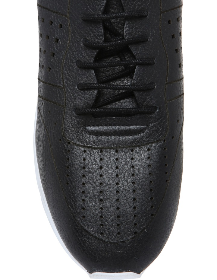 Action Black Leather Sneaker image 3