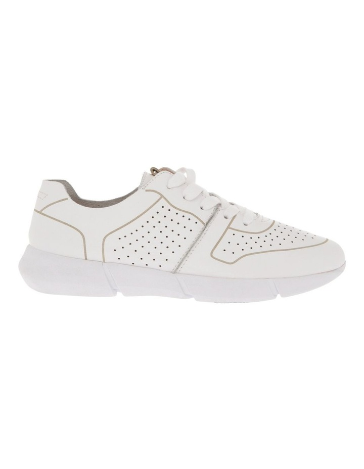 Madrid White Leather Sneaker image 1