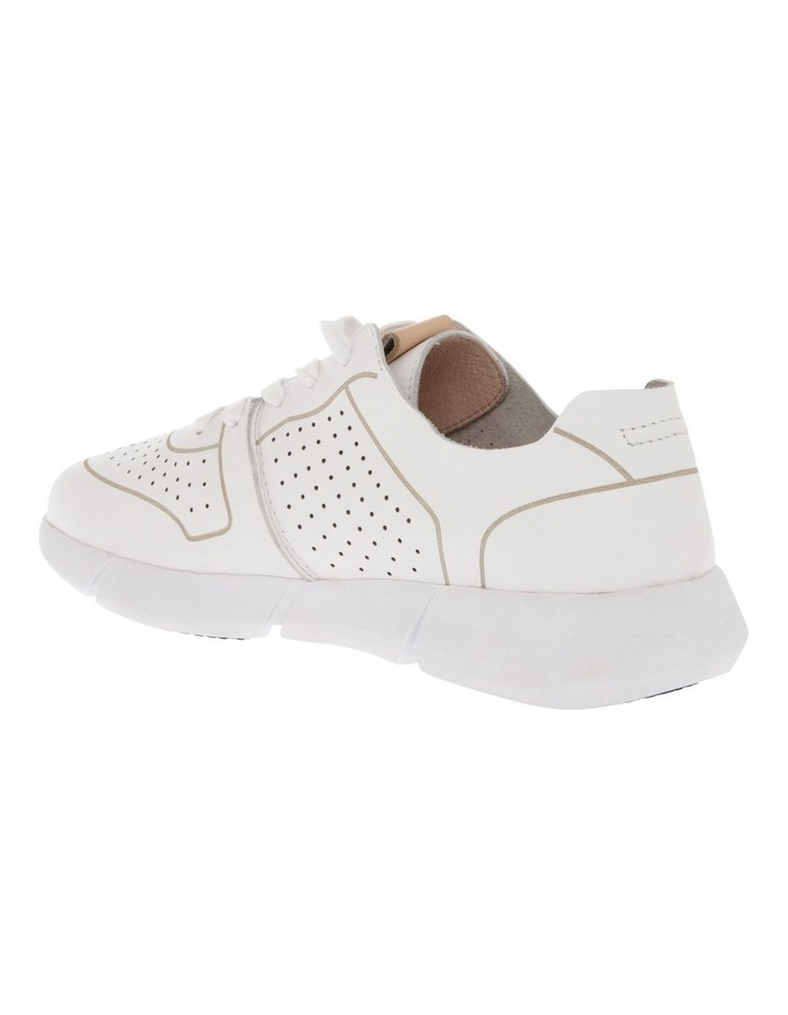 Madrid White Leather Sneaker image 2