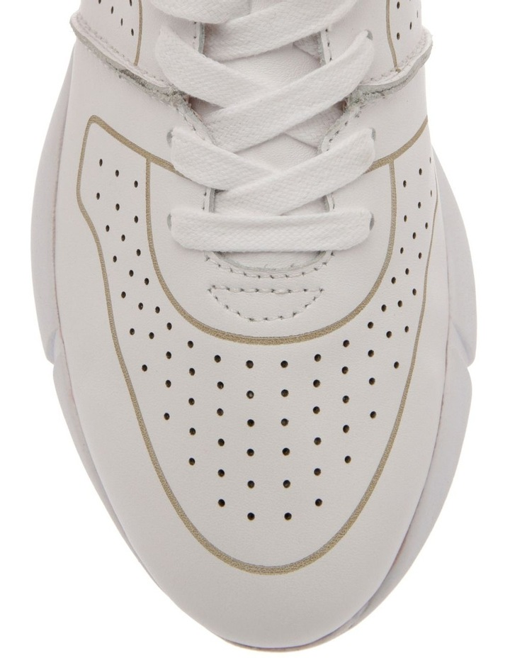 Madrid White Leather Sneaker image 3