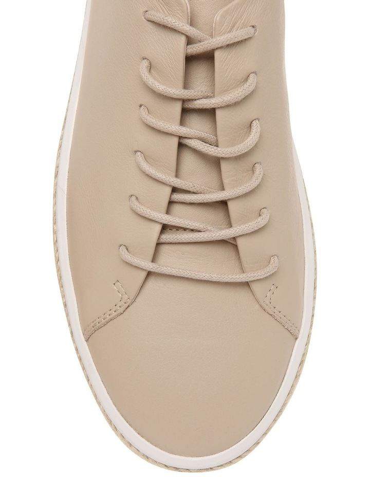 Serena Nude Leather Sneaker image 3