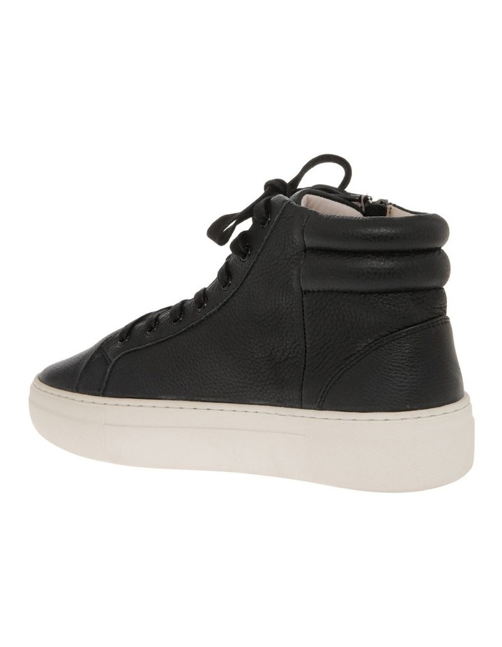 Blake Black Cow Leather Sneaker image 3