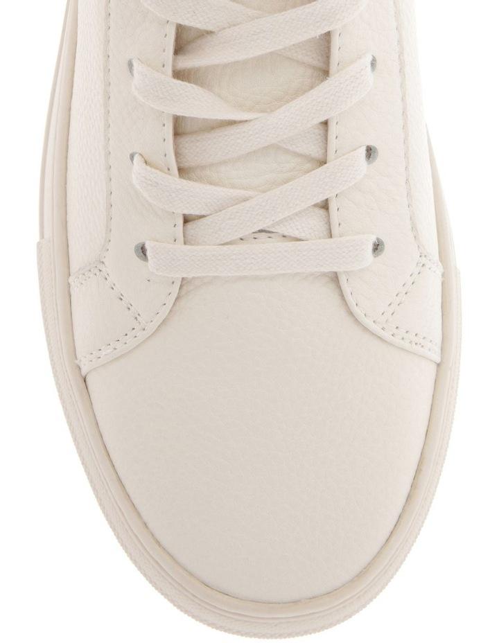 Blake White Cow Leather Sneaker image 3