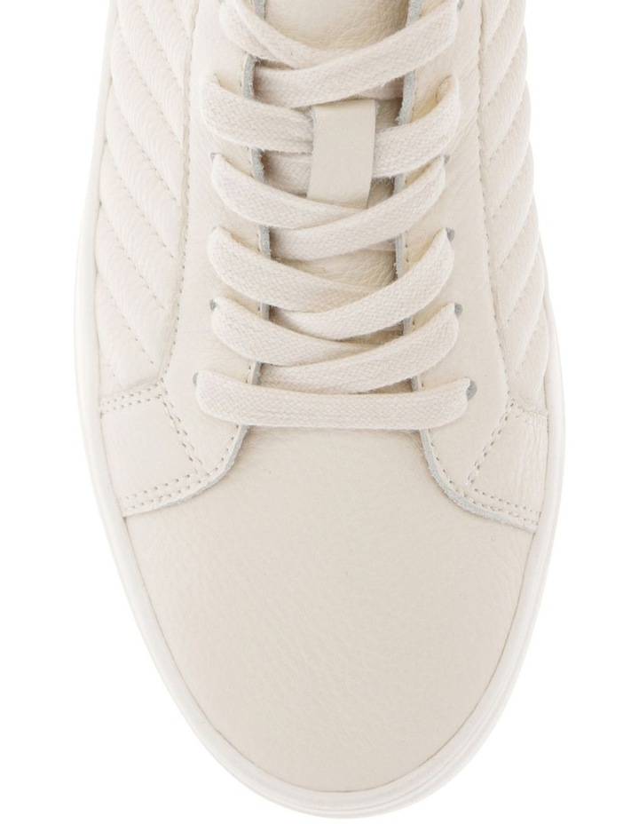Carson White Cow Leather Sneaker image 3