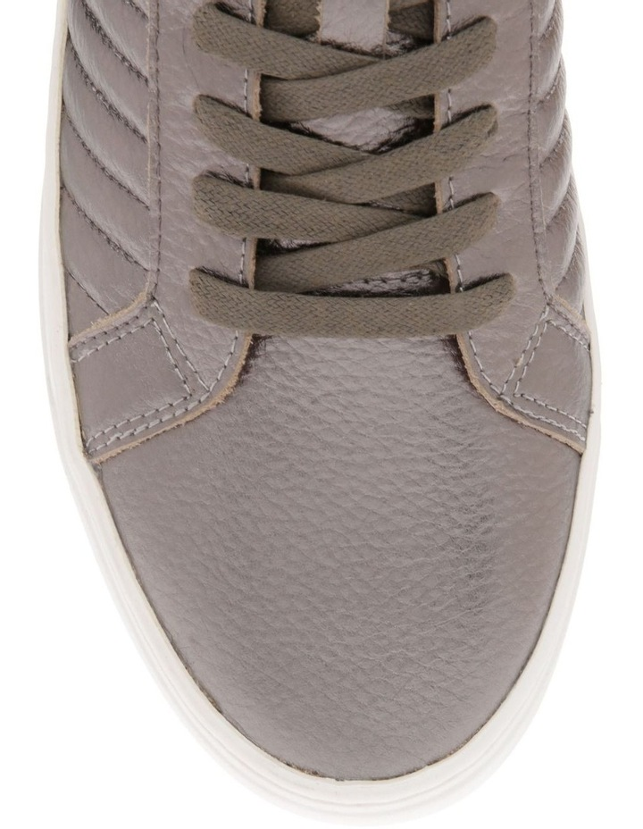 Carson Pewter Leather Sneaker image 3