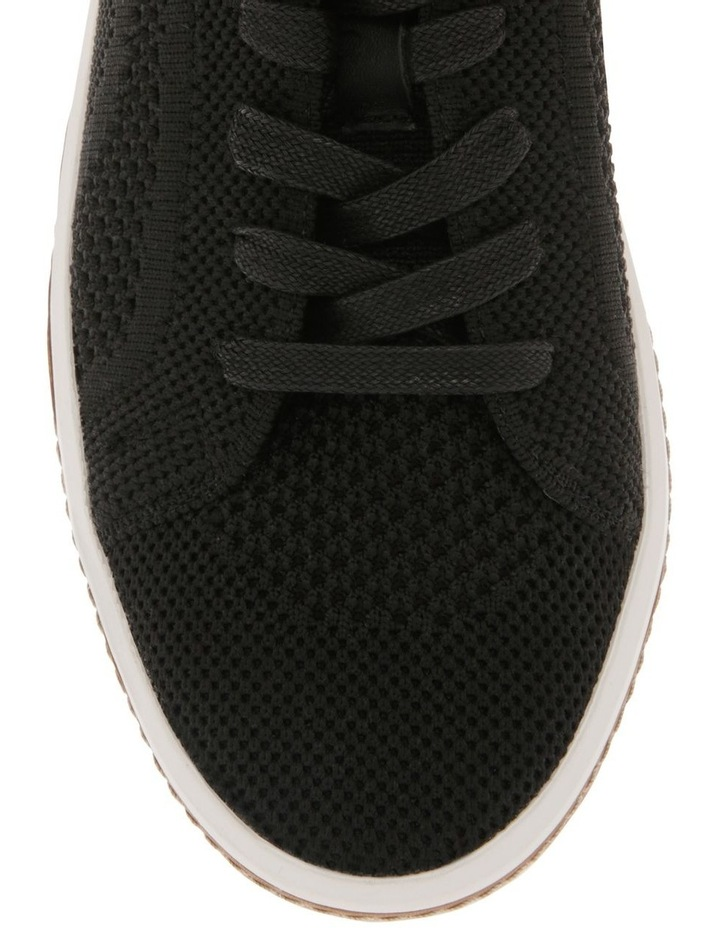 Savannah Black Flyknit Sneaker image 3