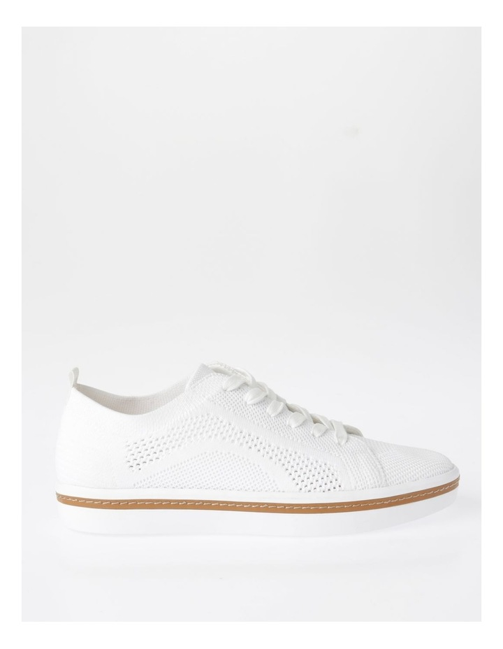 Savannah White Flyknit Sneaker image 1
