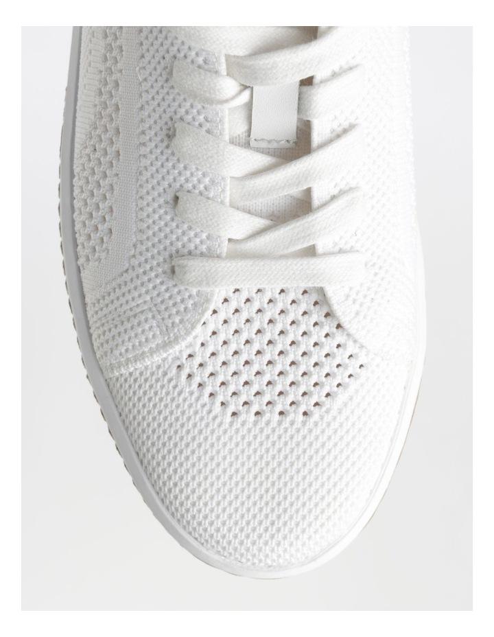 Savannah White Flyknit Sneaker image 2