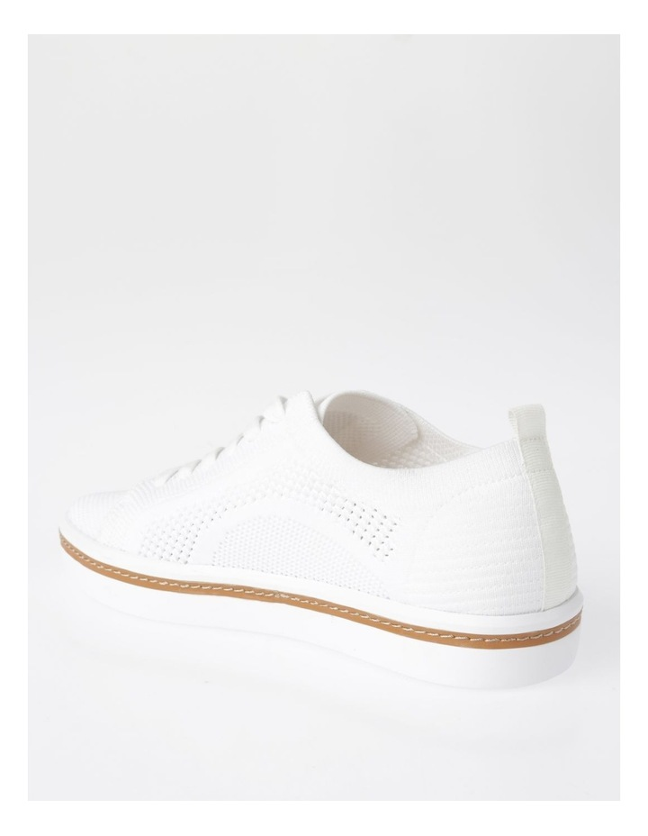 Savannah White Flyknit Sneaker image 3