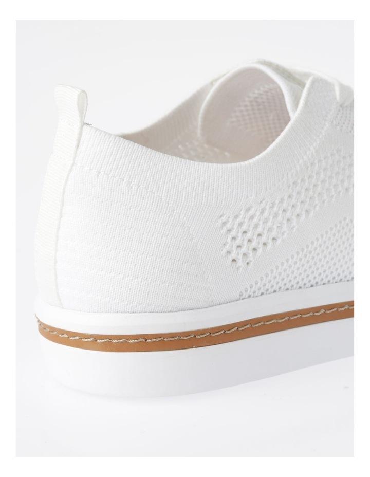Savannah White Flyknit Sneaker image 4
