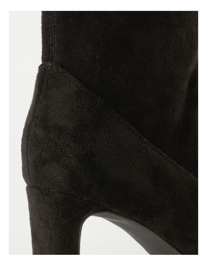 Tilly Black Micro Boot image 4