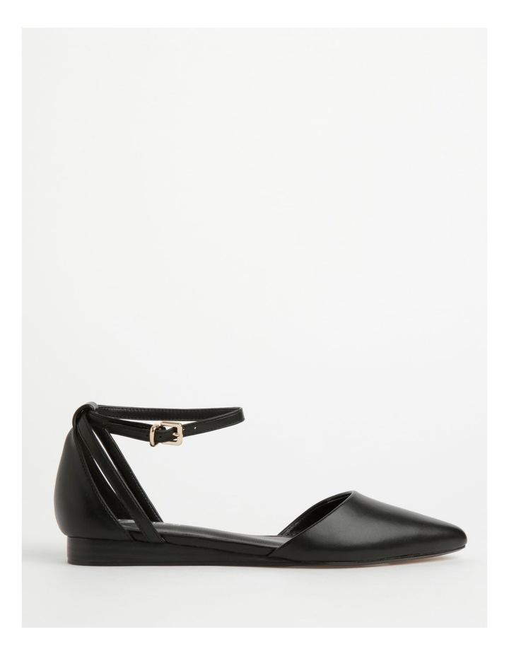 Kendall Black Flat Shoes image 1