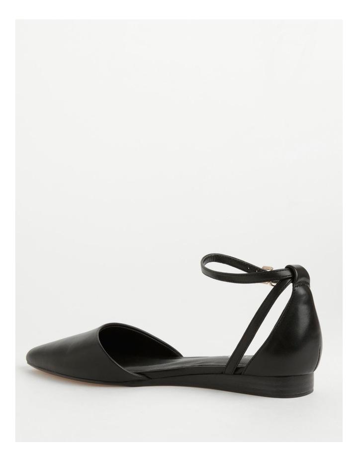 Kendall Black Flat Shoes image 3