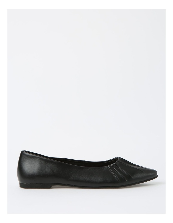 Cherrie Black Flat Shoes image 1