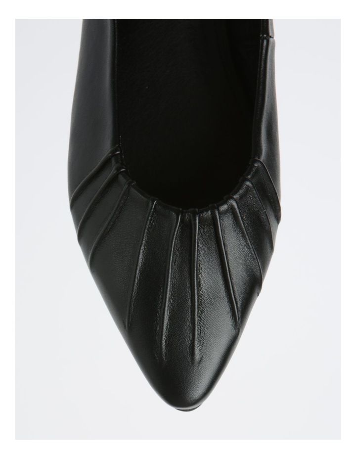 Cherrie Black Flat Shoes image 2