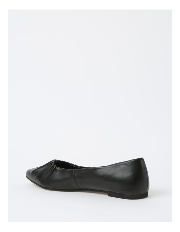 Cherrie Black Flat Shoes image 3