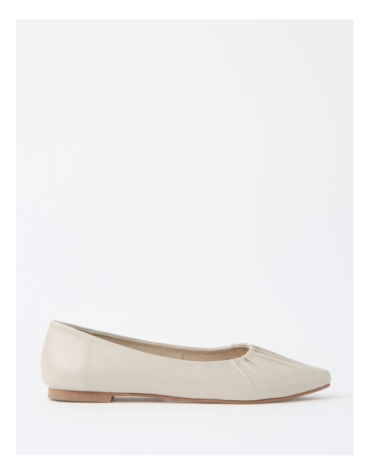 Cherrie Beige Flat Shoes image 1