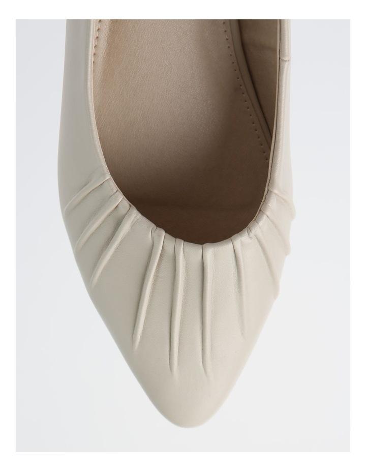 Cherrie Beige Flat Shoes image 2