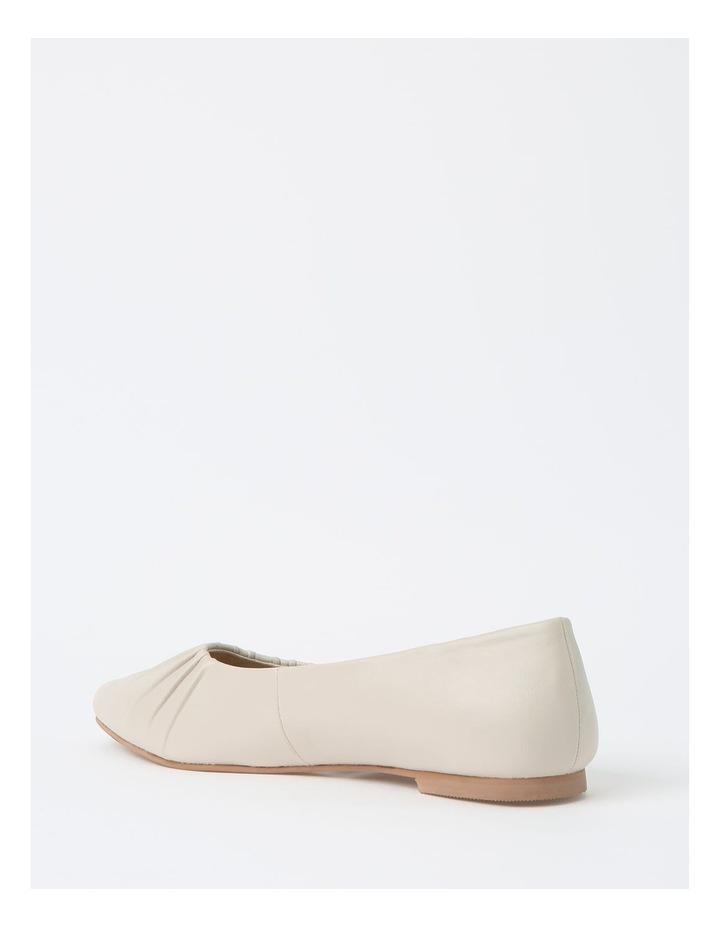 Cherrie Beige Flat Shoes image 3