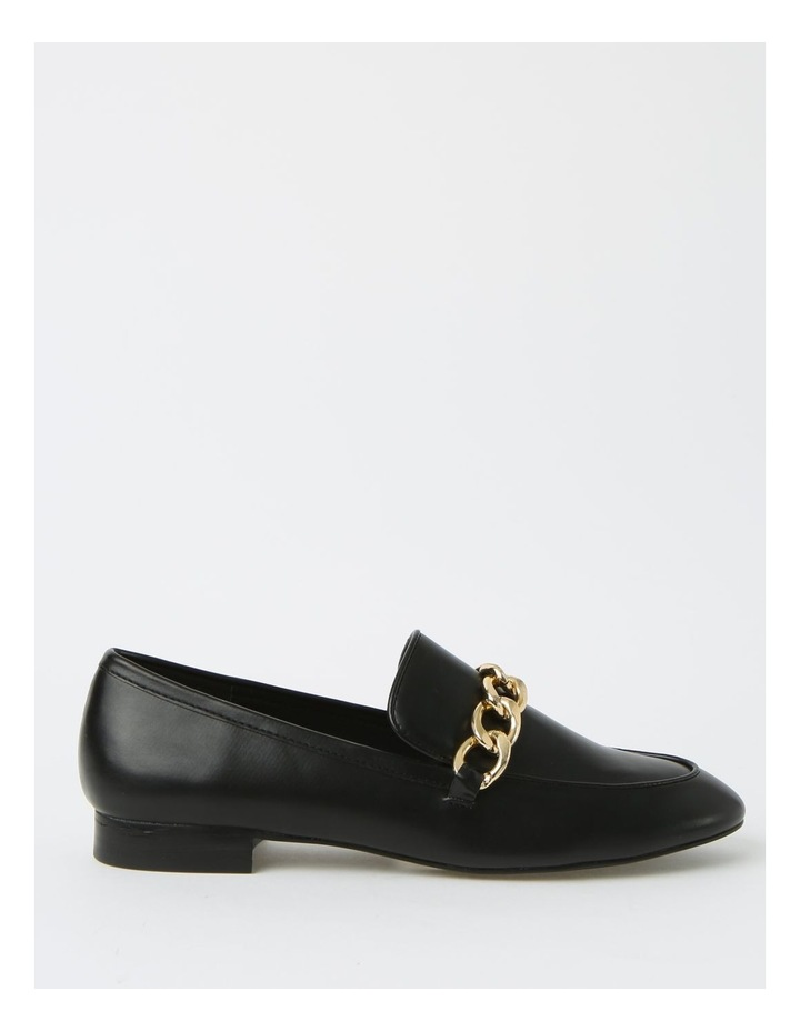 Aria Black Flat Shoes image 1