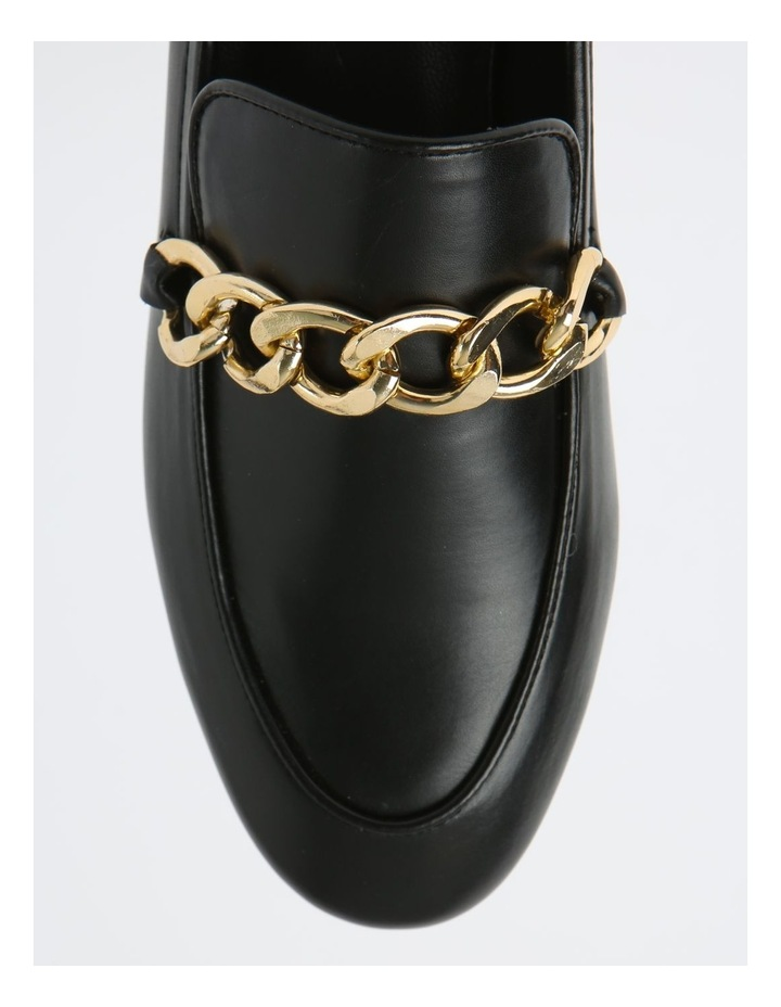 Aria Black Flat Shoes image 2