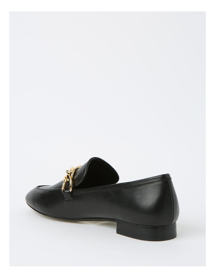 Aria Black Flat Shoes image 3