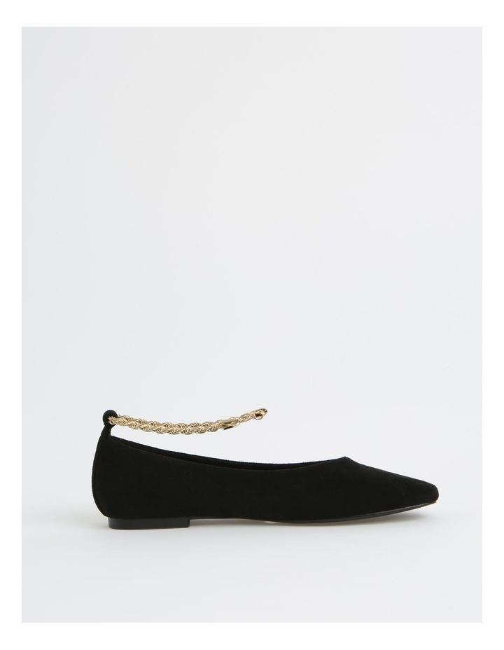 Bailey Black Flat Shoes image 1
