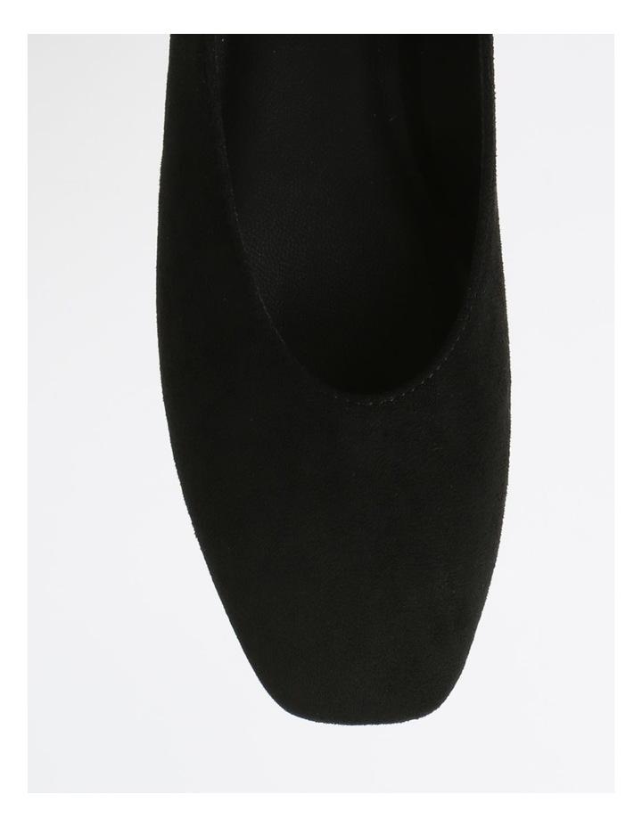 Bailey Black Flat Shoes image 2