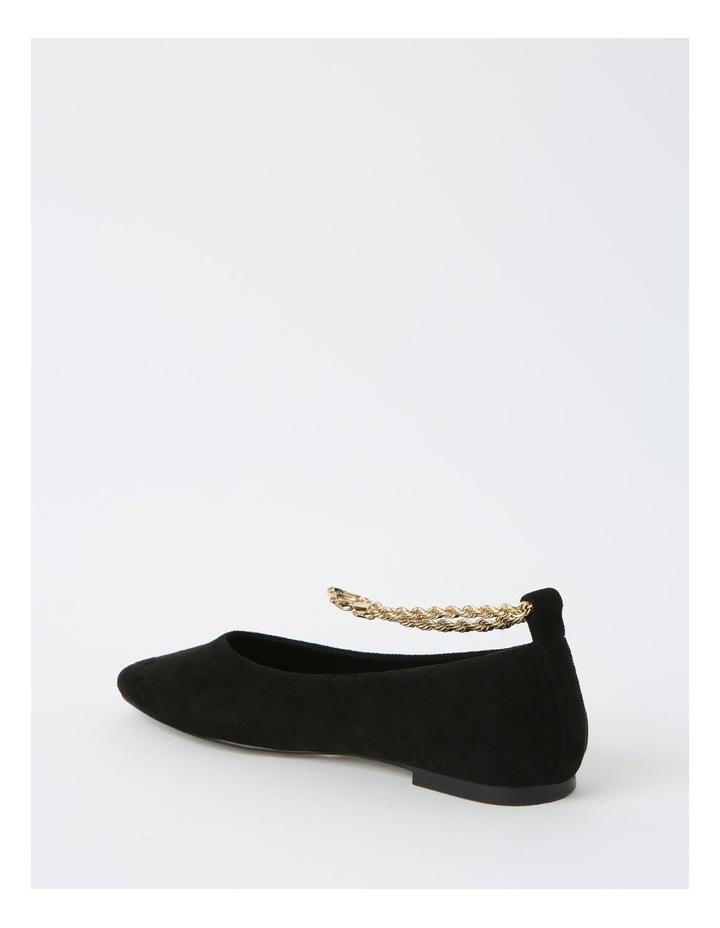 Bailey Black Flat Shoes image 3
