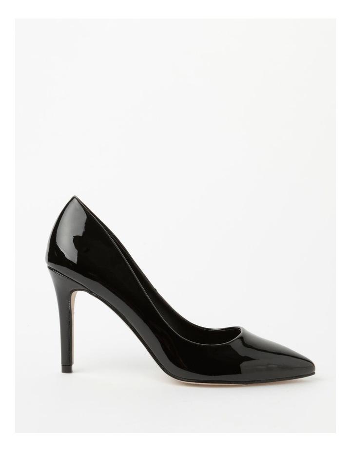 Ally Black Heeled Shoes image 1