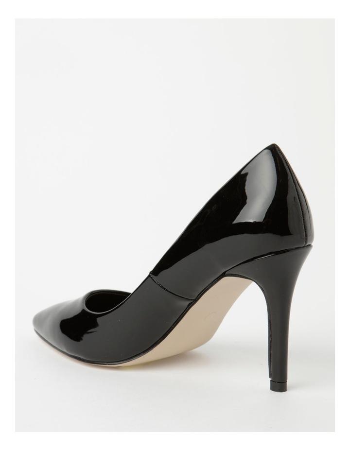 Ally Black Heeled Shoes image 3
