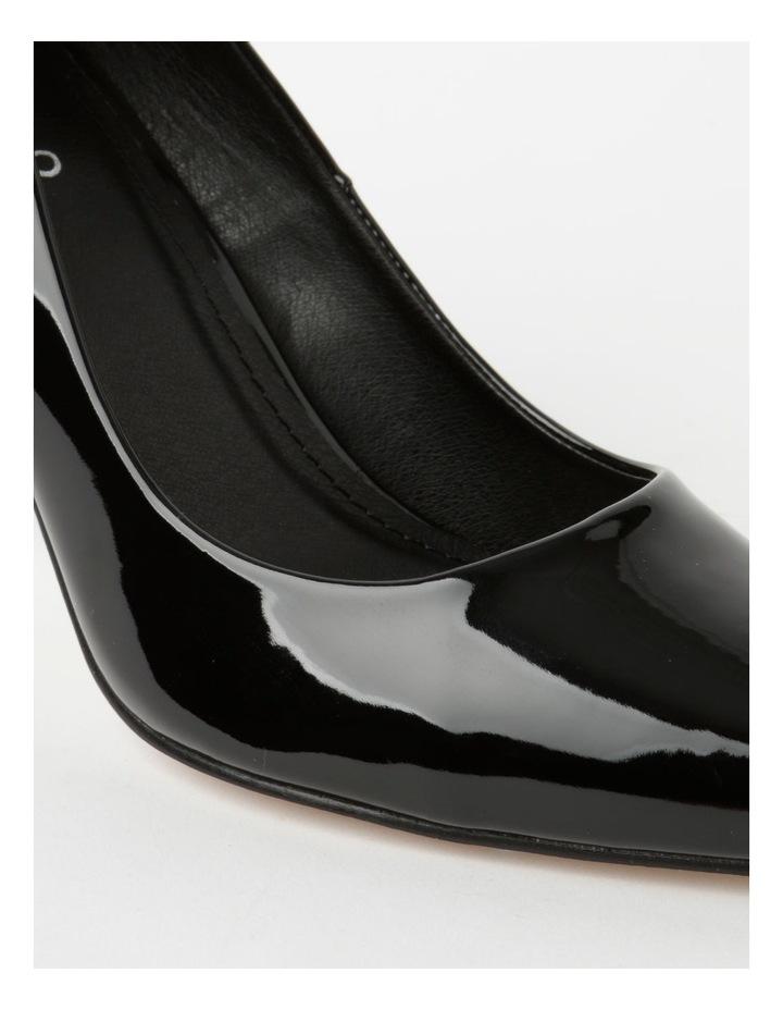 Ally Black Heeled Shoes image 4