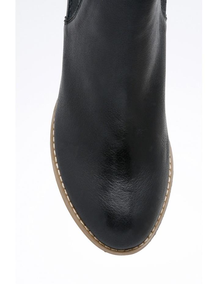 d4c631ba76c Zazou Sami Black Leather Boot
