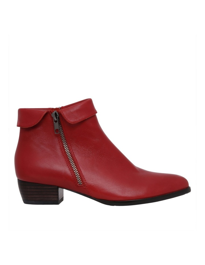 Zippy Red Leather Boot image 1