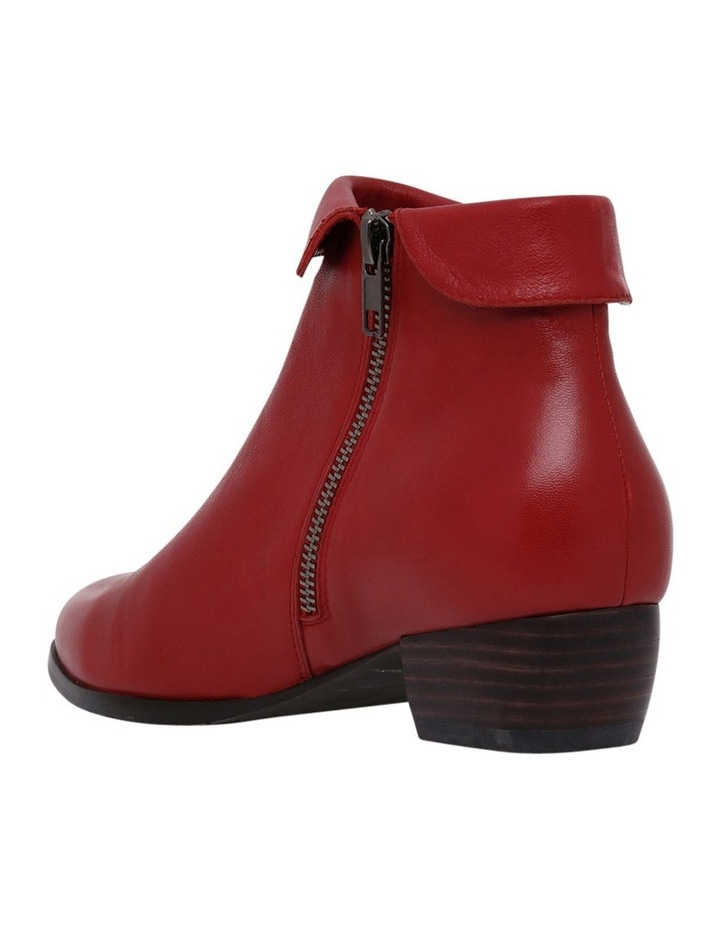 Zippy Red Leather Boot image 2