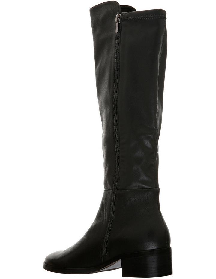 Terminus Black Leather Boot image 2