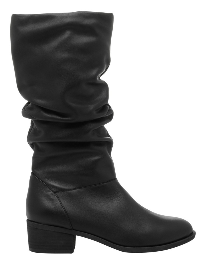 Hope Black Leather Boot image 1